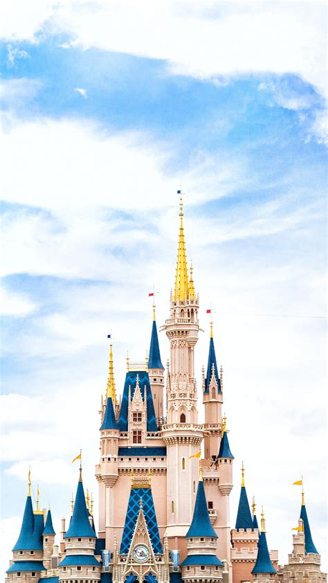 nn disney world castle sky wallpaper