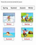 Free Worksheets On Seasons ESL Worksheets For Kids Seasons Kindergarten Worksheets Preschool Seasons Worksheets And Free Printable Worksheets Learn Season Worksheets Match Seasons Weather Seasons