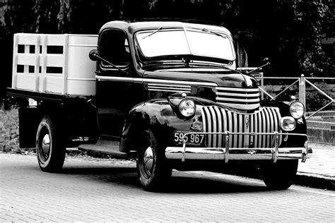 Black And White, Truck, America, Motor