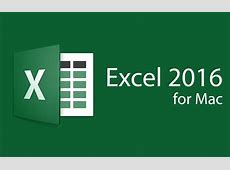 » Microsoft Excel 2016 for Mac