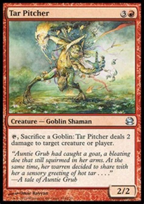 goblin charbelcher vintage deck tribal goblins vintage mtg deck