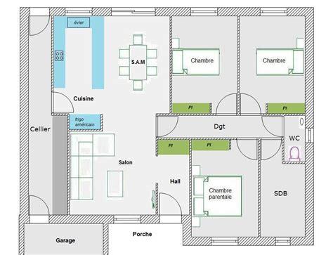 plan de chambre avec dressing et salle de bain avis pour maison plain pied 35 messages