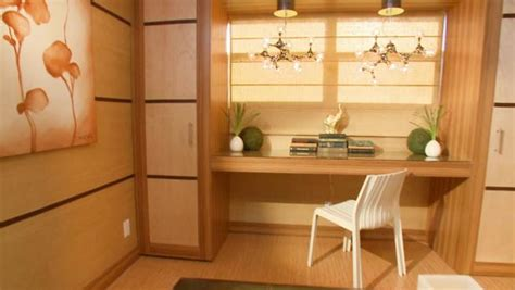 zen home office design video hgtv