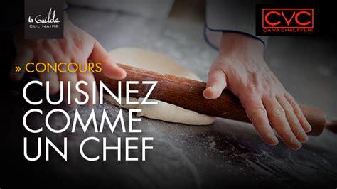 r 232 glement du concours cuisinez comme un chef