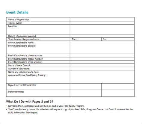 event safety plan template 38 event program templates pdf sle templates