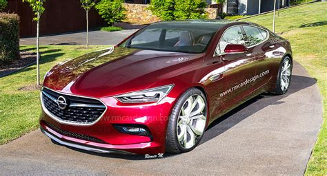 Opel Monza 2020 by Opel Monza Four Door Coupe Would Make A Sweet Merc Cls Rival