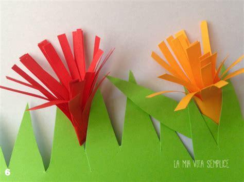 fiori con carta fiori di carta per bambini babygreen