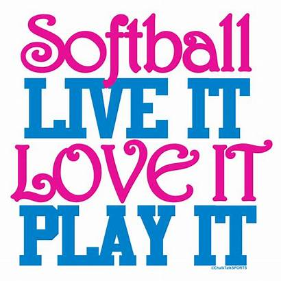 Softball Quotes Pink Sayings Quotesgram