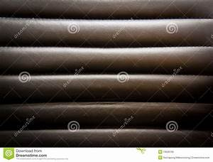 Black Leather Upholstery Royalty Free Stock Photo