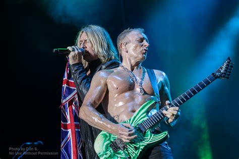 Metal Life Photos Of Def Leppard And Black Star Riders