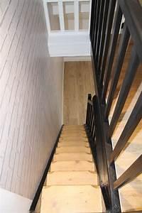 Renovation D Escalier En Bois : r novation escalier bois d capage des marches pour ~ Premium-room.com Idées de Décoration