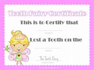 free tooth fairy certificate With free printable tooth fairy certificate template