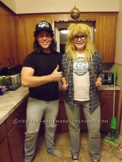 costumes costume couple wayne garth homemade couples halloween coolest waynes funny diy friends party character role movie play
