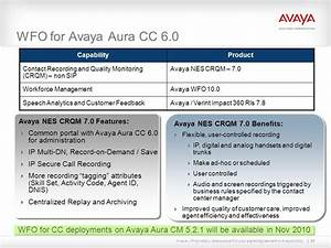 avaya auratm contact center 6 ppt download With avaya wfo