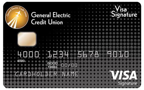 Visa signature business credit card. General Electric Credit Union - Accounts - Credit Cards