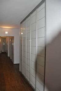 Portes De Placard Coulissantes Sur Mesure : placard sur mesure couloir la maison des bibliotheques ~ Melissatoandfro.com Idées de Décoration