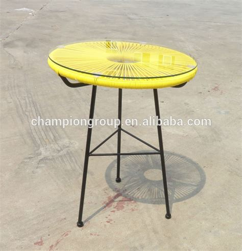 acapulco small side table with glass top buy colorful