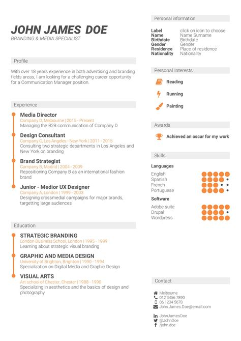 Skills For Cv what is the best cv format how to write a cv cv template
