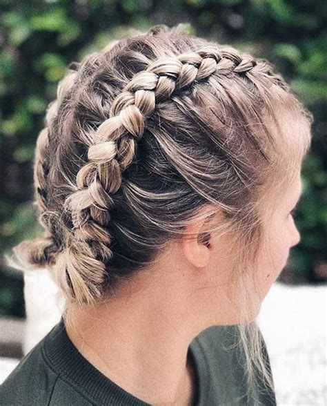 20 ideas of cute easy hairstyles for short hair short