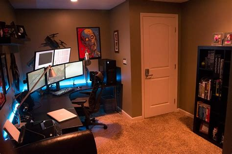 tech man cave man cave office home office design