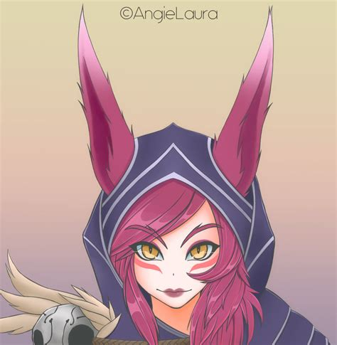 Xayah By Angielaura On Deviantart