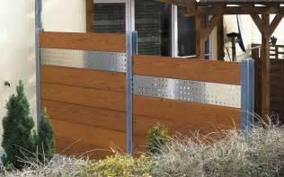 balkonabtrennungen aus holz glass furniture moderner sichtschutz aus holz