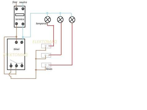 solucionado como se instala un timer para luces exteriores electricidad domiciliaria