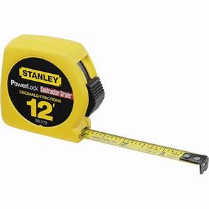 Decimal In  Measuring Tape