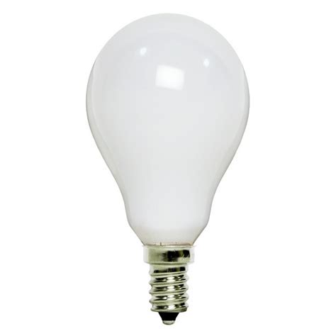 what type of bulb for ceiling fan satco s4161 40w a15 ceiling fan bulb