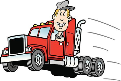 Truck Driver Birthday Cards