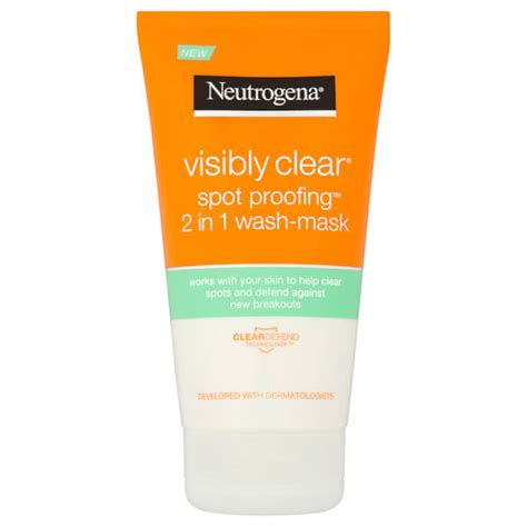 Neutrogena Visibly Clear Spot Proofing 2in1 WashMask
