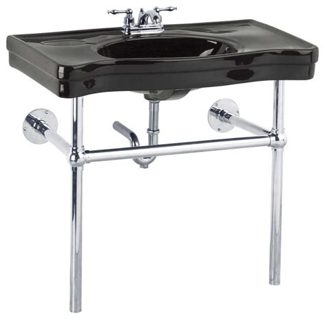 chrome legs for wall mount sink the renovator 39 s supply inc console sinks black belle