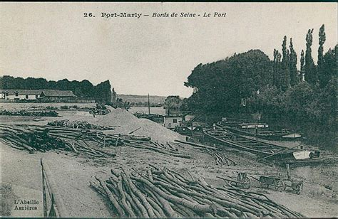 meteo le port marly carte postale sur le port marly port marly