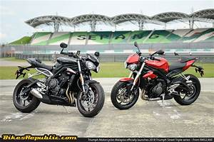 Street Triple S : triumph motorcycles malaysia officially launches 2018 triumph street triple series from rm52 ~ Maxctalentgroup.com Avis de Voitures
