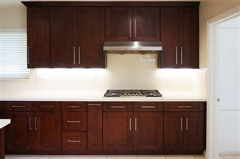 mahogany shaker ready  assemble kitchen cabinets