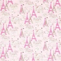 Bathroom Vanity Tower Ideas by Pink Fabric Paris Eiffel Tower Bistro By Robert Kaufman