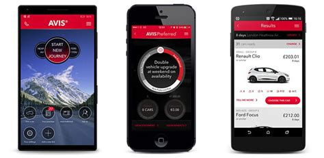 Car Apps For by Car Hire On The Move With The Avis Car Hire Apps