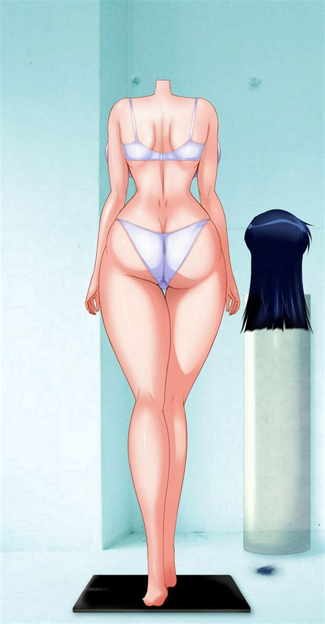 Rule 34 Blue Hair Breasts Headless Huge Breasts Sex Doll