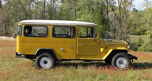 1979 Hj45 Toyota Land Cruiser Pop Top Camper