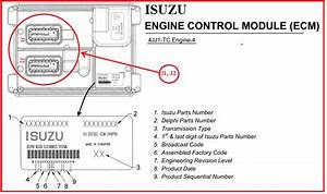 Technic Auto Car  Engine Control Module Isuzu D