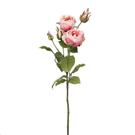 Darice® Artificial Long Stem Roses  Pink Blooms