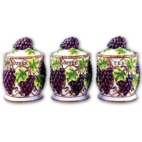 grape kitchen canisters 17 best images about grape decor on vineyard