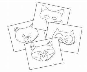free printable animal masks templates fox mask owl mask With woodland animal masks template