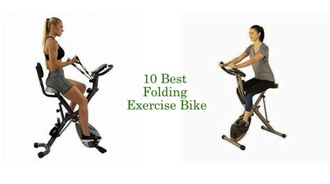 Best Folding Exercise Bike - 10 Foldable Exercise Bikes 2020