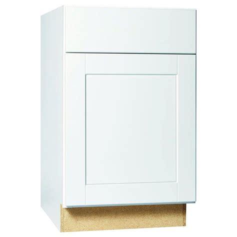 white base kitchen cabinets hton bay shaker assembled 21x34 5x24 in base kitchen 1254