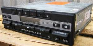 becker europa 2000 europa 2000 be 1100 car radio becker max egon autoradiower
