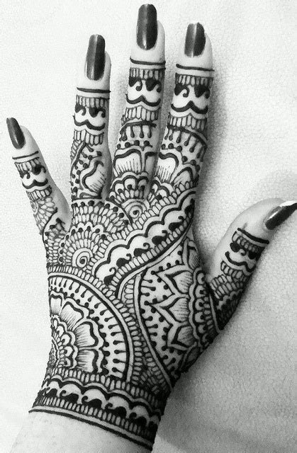 Detailed Henna Tattoo