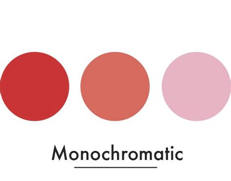 Monochromatic Value Scale -red-