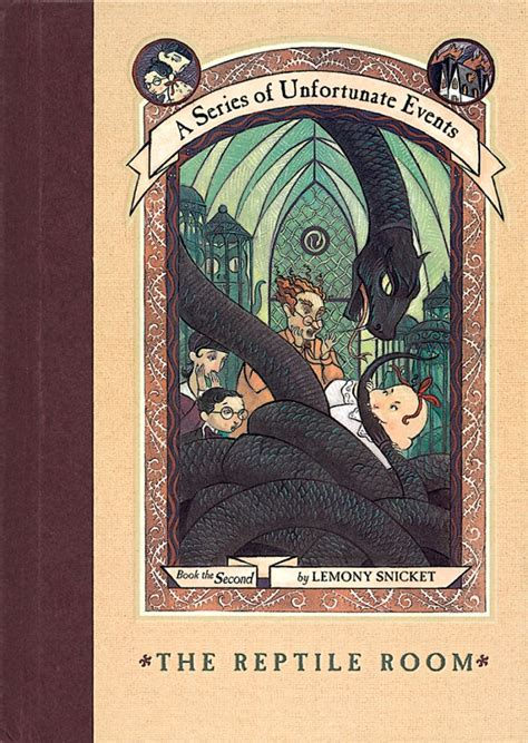 The Room Book by The Reptile Room By Lemony Snicket Scholastic