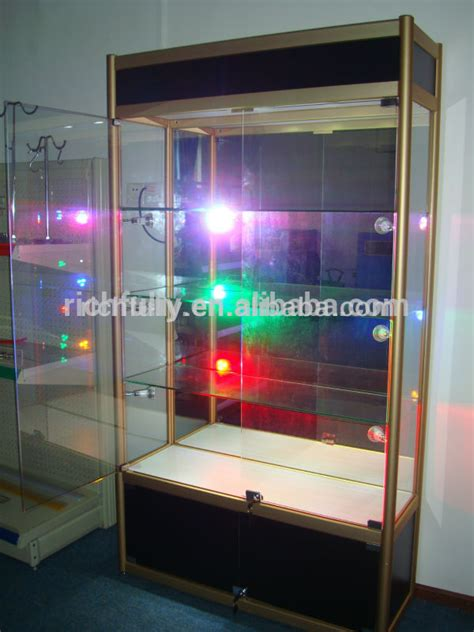 2015 Popular Used Led Light Glass Showcases,used Jewelry